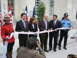 Canadian consulate ribbon-cutting