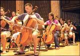 The Cellists of the Texas Festival Orchestra