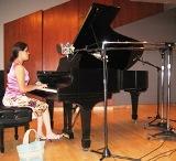 Pianist Hortencia Urteaga