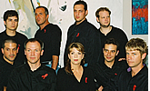 Castmembers from Theatre New West's The Normal Heart