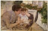 Susan Comforting the Baby, Mary Cassatt c. 1881