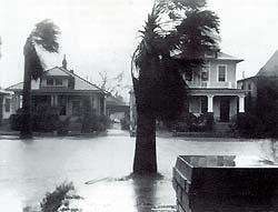 1943 Hurricane in Galveston