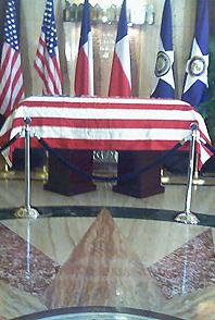 image casket in rotunda