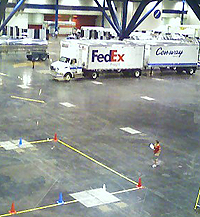 image of fedex truck