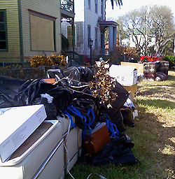 image of galveston house cleanup