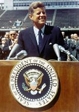 image President John F Kennedy of September 12, 1962 at Rice University