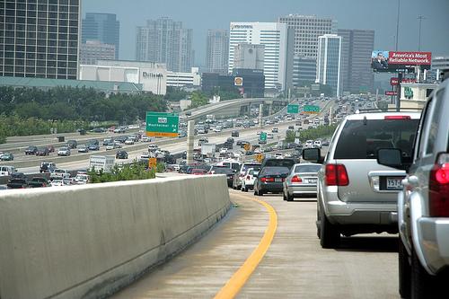 image of Houston traffic