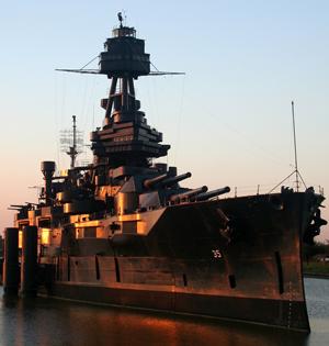 image of Battleship of Texas