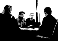 image of business poeple conferencing