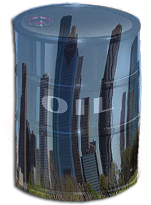 image of houston oil barrel