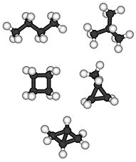 image of saturated C4 hydrocarbons