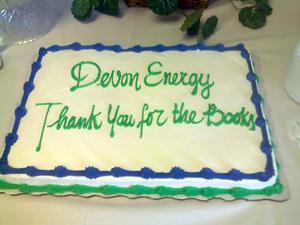 image of Thank you cake to Devon Energy