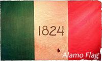 image of Alamo flag