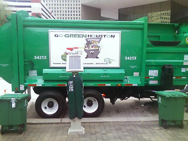 image of Go Green Houston Recyling