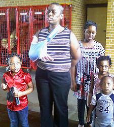 image of Shanay Smith's family