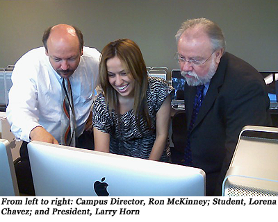 image of Ron McKinney, Lorena Chavez and Larry Horn