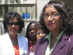 Dorris Ellis, President of the Friends of Emancipation Park