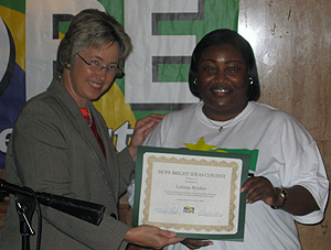 image of Annise Parker and Latanya Bolden