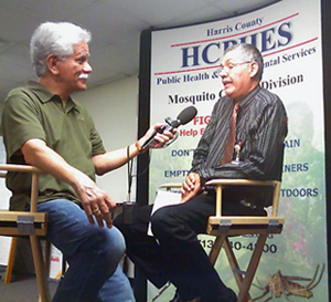 image of Pat Hernandez and Dr. Rudy Bueno