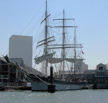 image of tall ship Elissa