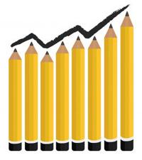 image of pencil graph