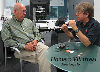 image of Homero Villarreal and Ed Mayberry