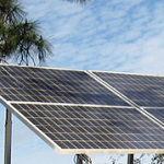 The City of Houston plans to partner with NRG Texas to build the state's largest solar farm. The 40-million dollar project will go online next year and provide energy exclusively for city buildings. Laurie Johnson has more.