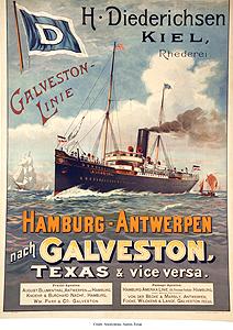 Hamburg Line Poster