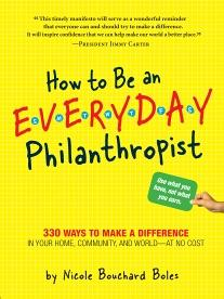 How to Be an Everyday Philanthropist book cover