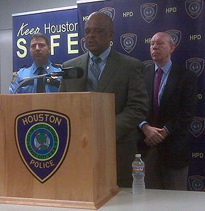 Houston Police Chief Harold Hurtt