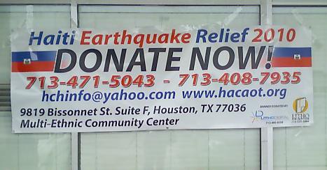 Haiti Earthquake Relief 2010