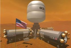 NASA Mars Settlement