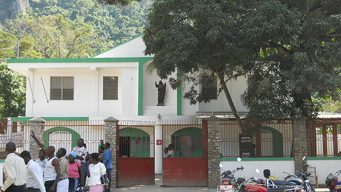 Sacred Heart Hospital in Milot Haiti