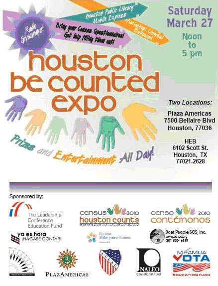 Houston Be Counted Expo