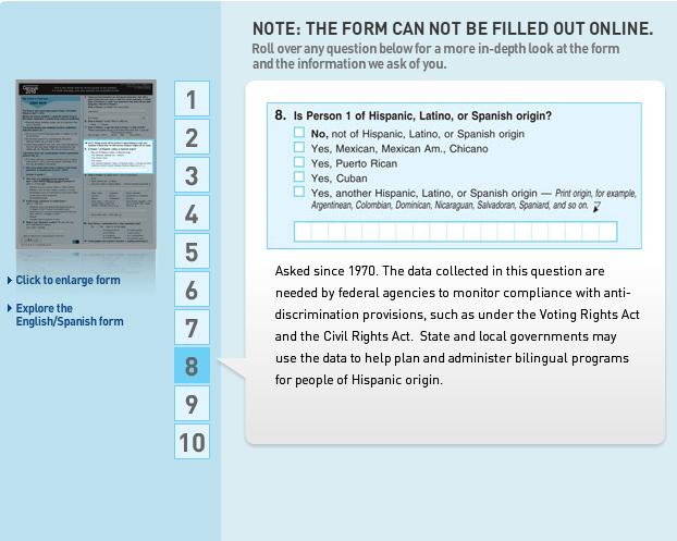 Census question 9