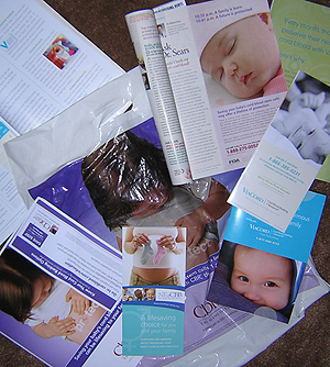 Cord blood banking advertisements