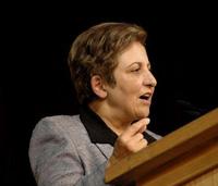Nobel Laureate Shirin Ebadi