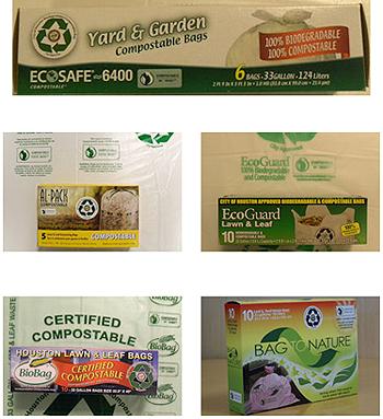 acceptable trash compostable bags
