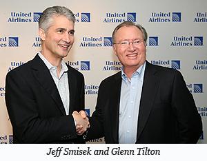 Jeff Smisek and Glenn Tilton