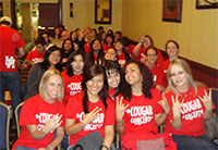 Cougar Concepts in their new t-shirts