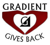 Gradient Give Back logo