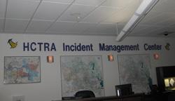 Inside the HCTRA Incident Management Center