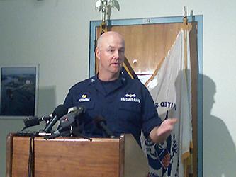 Coast Guard Captain Marcus Woodring