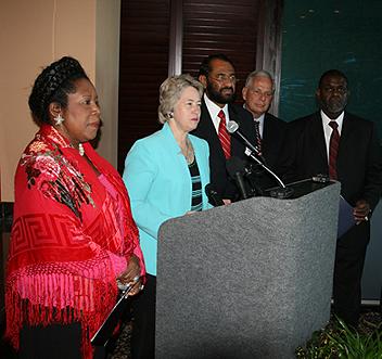 press conference picture