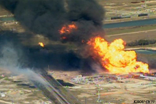 Plant Explosion in Mon Belvieu