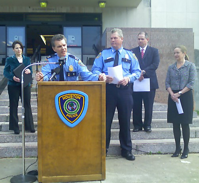 Houston Police Assistant Chief Brian Lumpkin