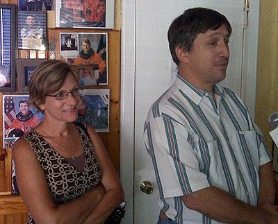 Patricia and Tom Silva