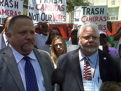 red light camera opponents Paul and Michael Kubosh