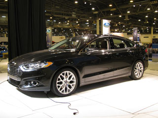 Ford Fusion side
