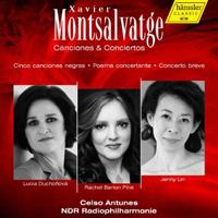 Xavier Montsalvatge's Canciones and Conciertos